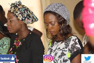 Photos from TNCBC YOPA Assembly During Last Sunday's Worship.