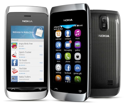 Harga Nokia Asha Baru Bekas Desember 2012 Lengkap