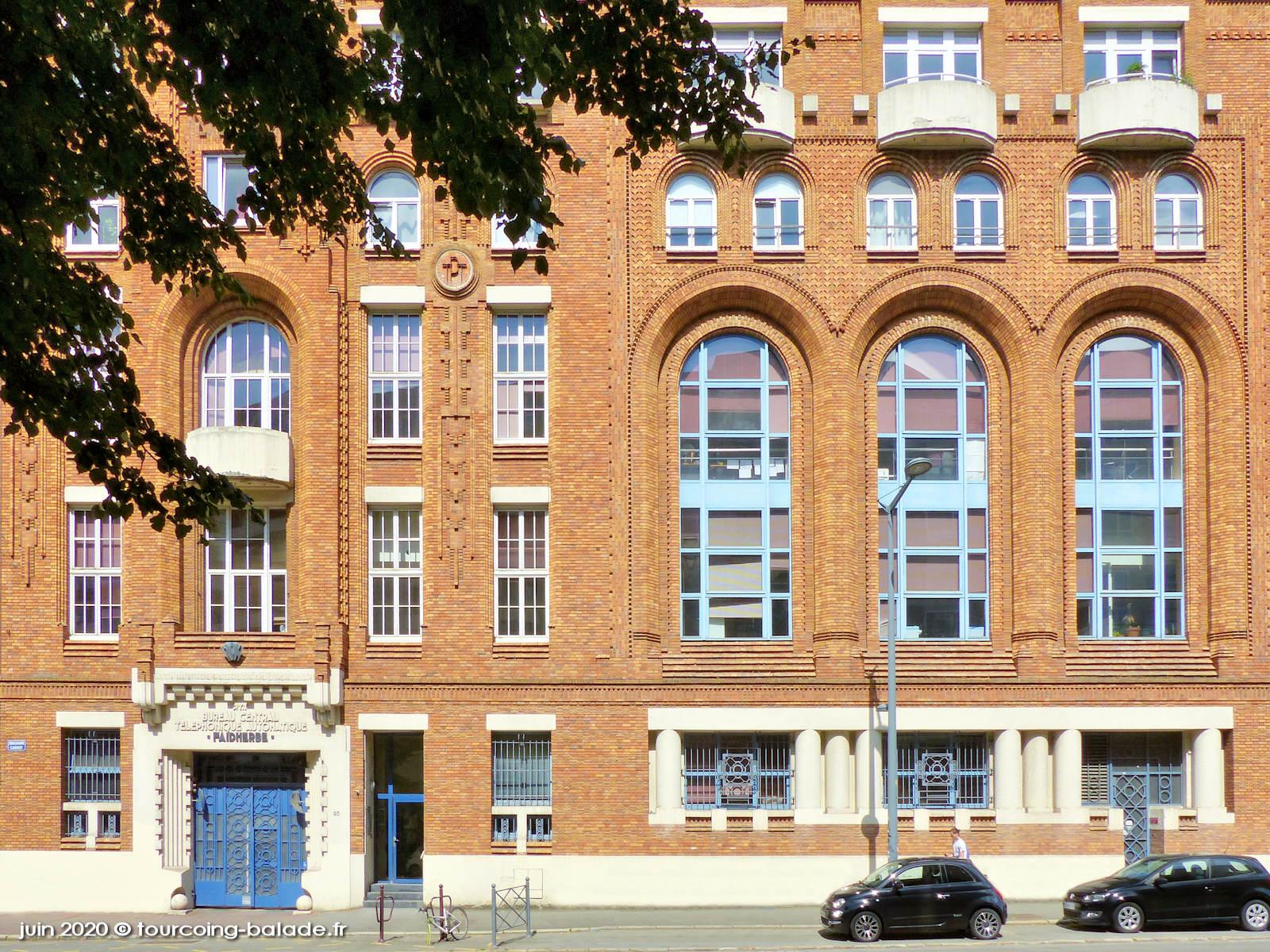 PTT Bureau Central Téléphonique Automatique Faidherbe, Lille, 2020