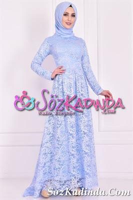 dantelli en güzel abiye elbise modelleri ve fiyatları