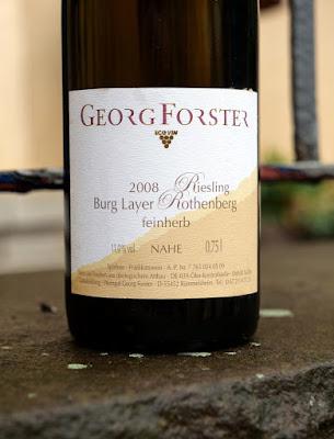 Riesling aus dem Weingut Forster.