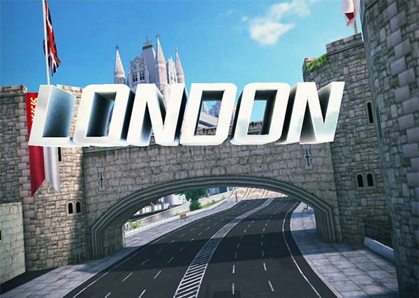 Asphalt 8 London Track