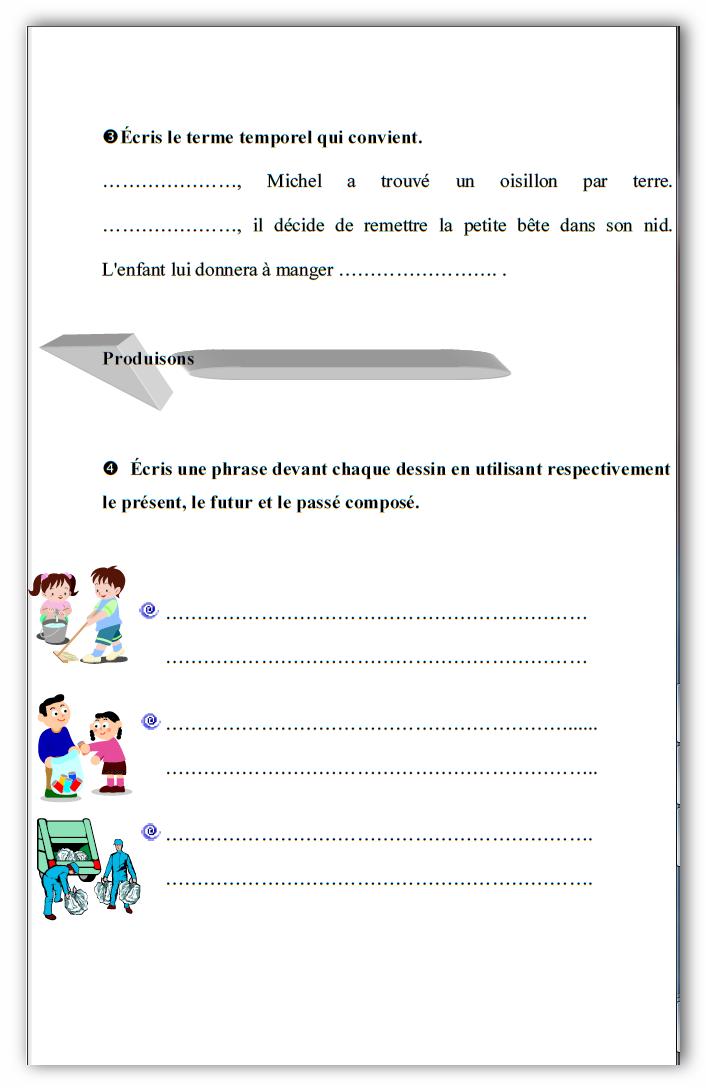 trés interessant!!! parascolaire 5eme année exercices et devoirs + corrigés syntaxe conjugaison ...