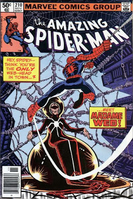 Amazing Spider-Man #210, Madame Web
