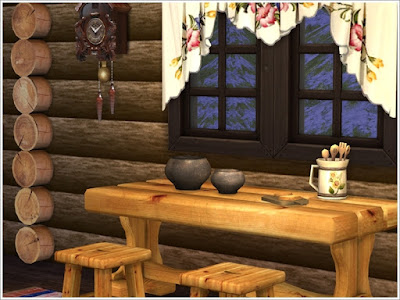 The Sims 4, предметы для The Sims 4, Симс 4, Severinka_, моды для The Sims 4, мебель для The Sims 4, декор для The Sims 4, русский стиль, избушка, деревенский дом, русский интерьер, русский дом, изба, интерьер для избы, народный стиль, печка, хохлома, блины, еда в русском стиле, панно деревянные, панно резные, мед, блины с медом, посуда в русском стиле, русский стиль для The Sims 4, русский интерьер The Sims 4, деревенский дом в The Sims 4,
