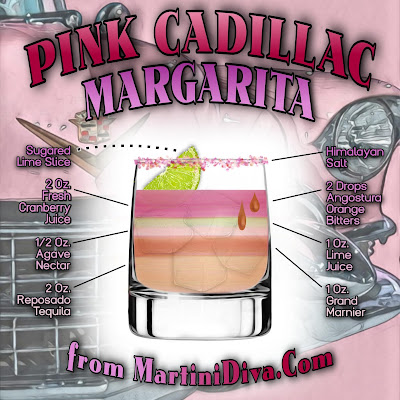 PINK CADILLAC MARGARITA RECIPE WITH INGREDIENTS AND INSTRUCTIONS