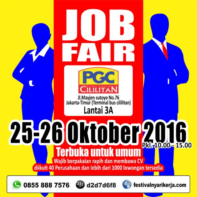 Job Fair PGC Cililitan