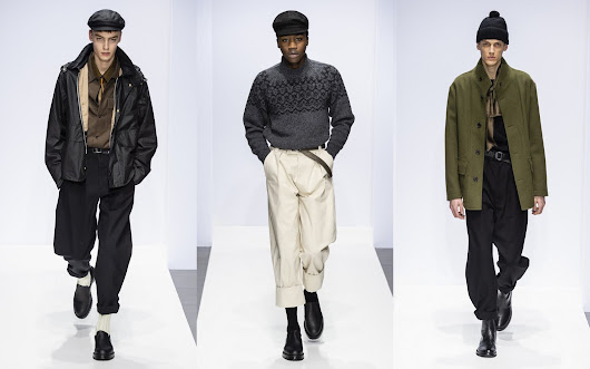 Male Fashion Trends: Margaret Howell Fall-Winter 2019-20 - London Fashion Week