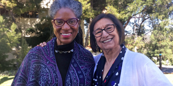 Drs. Nola Butler-Byrd and LUpe Holguin Buell