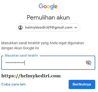 akun gmail yang lupa password 3