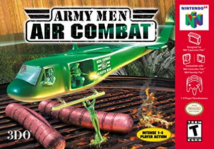 Army Men: Air Combat-cover game/ top game n64