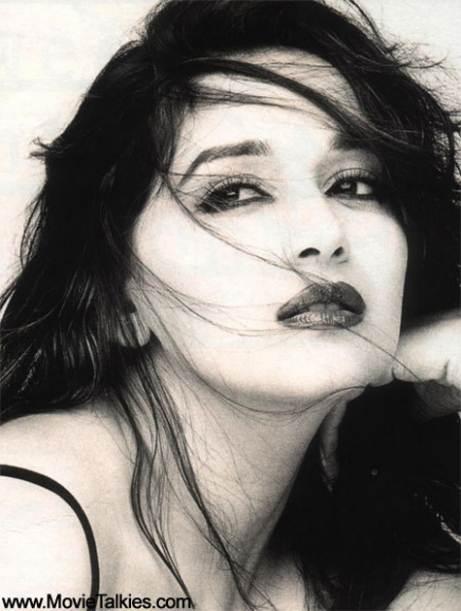 Madhuri Dixit Hot Lips Pics 2016