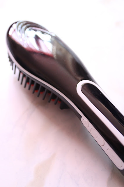 LCD Hair Straightener Brush Review| City of Creative Dreams