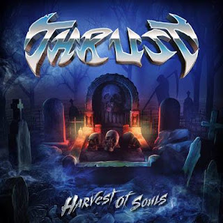 "Το single των Thrust ""Sorceress"" από το album ""Harvest Of Souls"""
