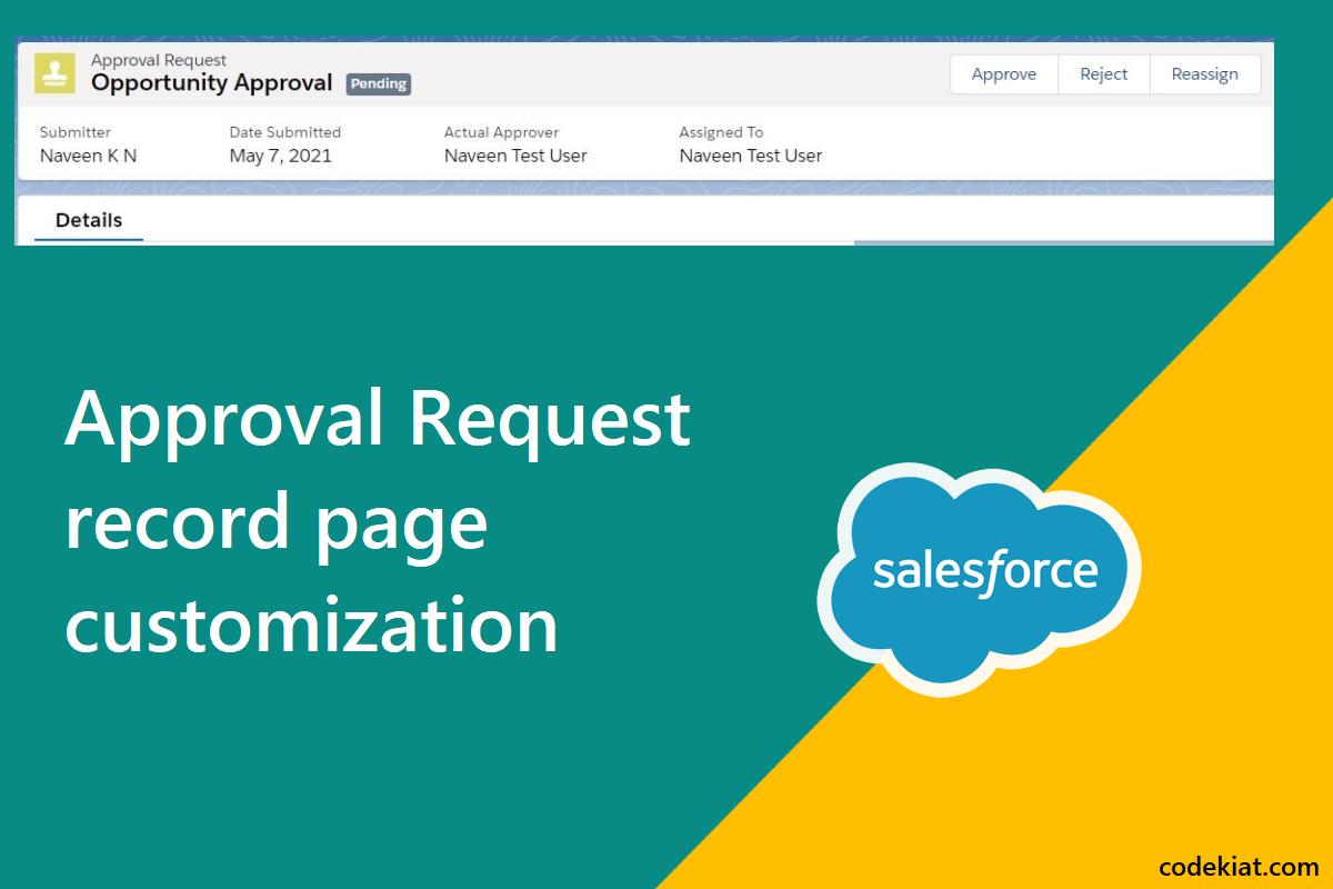 approval process layout
