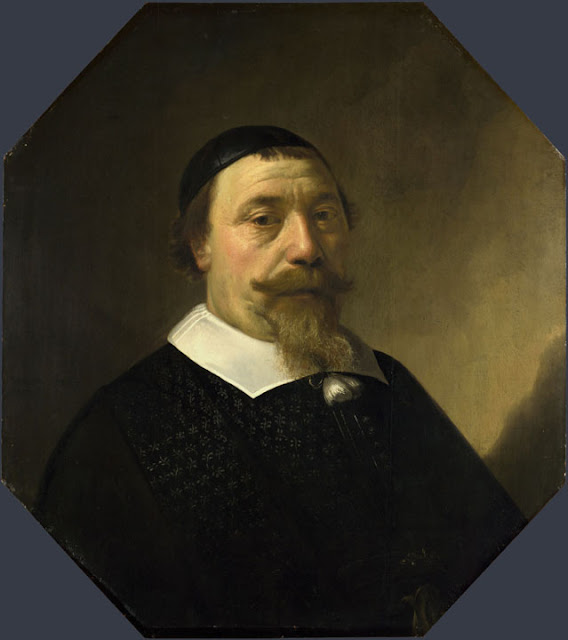 Альберт Кёйп - Портрет бородатого мужчины. 1649