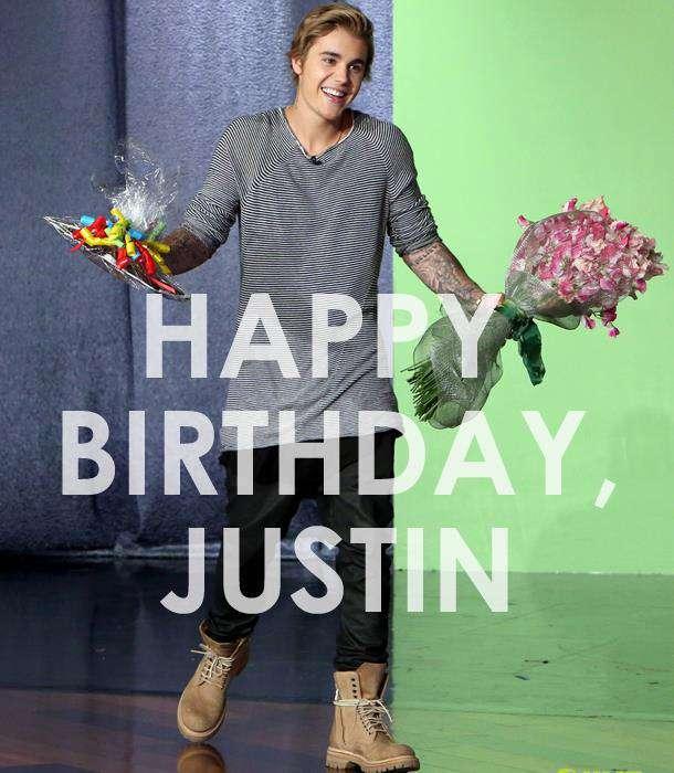 Justin Bieber's Birthday Wishes pics free download