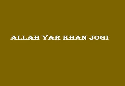 AllahYarKhanJogi