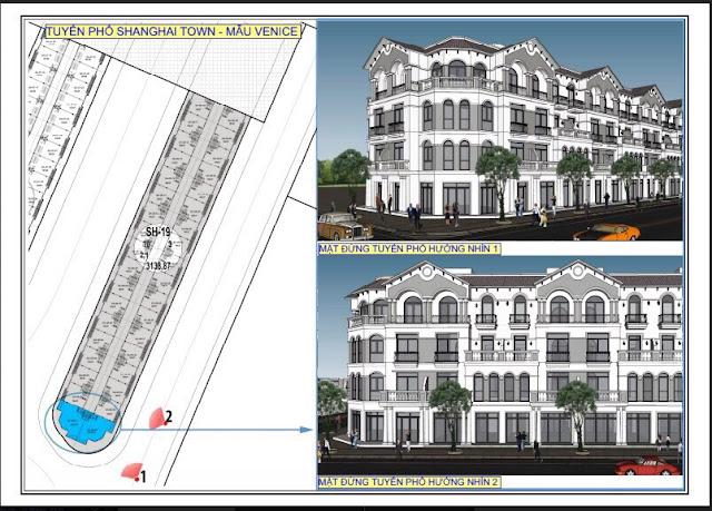 thiết kế kiến trúc phân khu thượng hải