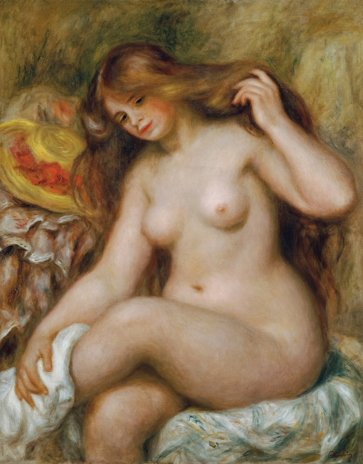 The ethics of the female nude confluence
