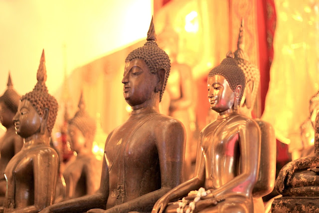 Buddha Temple Old Town Travel Photography Chiang Mai Thailand