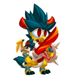 Kitsune Dragon (Baby)