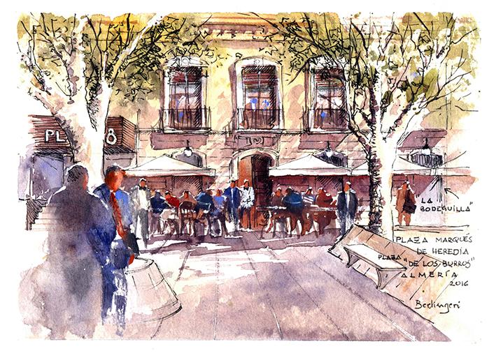 """""""Plaza de los Burros"""" - Almería"""