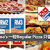 Domino's 一粒Regular Pizza 只需RM1!限时优惠!要吃快点吃!