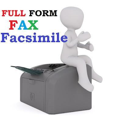 fax-full-form