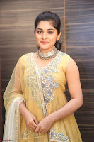 Nivetha Thamos in bright yellow dress at Ninnu Kori pre release function ~  Exclusive (57).JPG