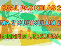 Soal PAS/UAS Kelas 2 SD Tema 2 Kurikulum 2013 Tahun 2019 dan Kunci Jawaban