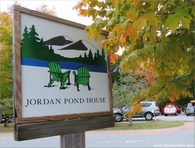 Jordan Pond House en el Parque Nacional Acadia, Maine