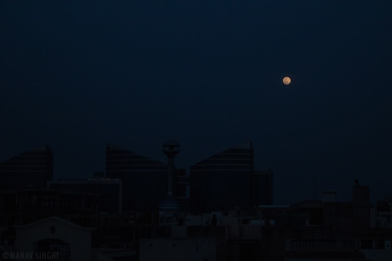Today 7-April-2020 - India Lockdown Day 14 Full Moon