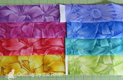Choosing the fabrics