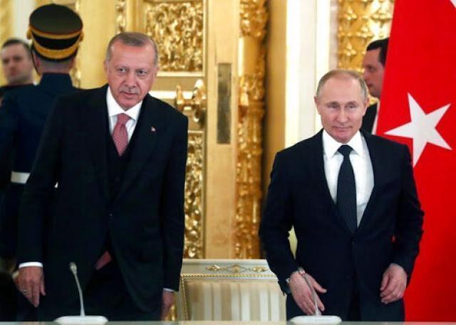 Επικοινωνία Ερντογάν - Πούτιν πριν την τουρκική εισβολή στη Συρία