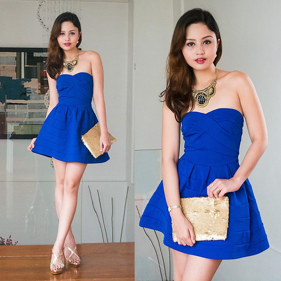 8236857d57 Zapatos para Vestido Azul 2017 ¡Ideas con Fotos!