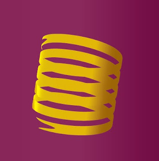 Spiral Ribbon in Adobe Illustrator