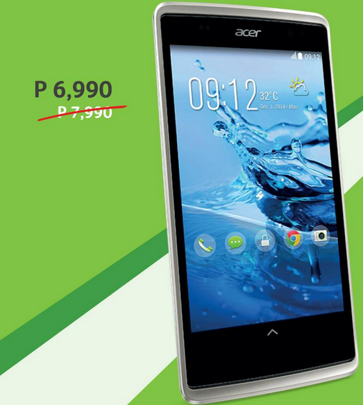14233a1fa89 Acer Smartphones Price Drop Promo (Price and Specs)