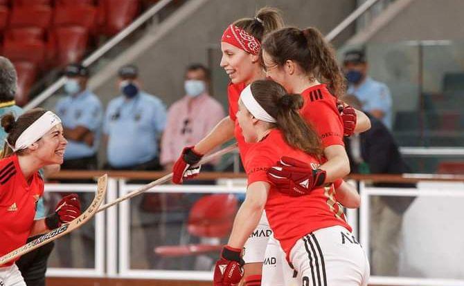 Benfica Campeão Nacional de Hóquei em Patins Feminino 2020/21