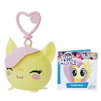 MLP the Movie Fluttershy Clip and Go Keychain Plush