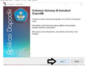 Cara Install Dapodik 2018b dengan Benar [Lengkap]