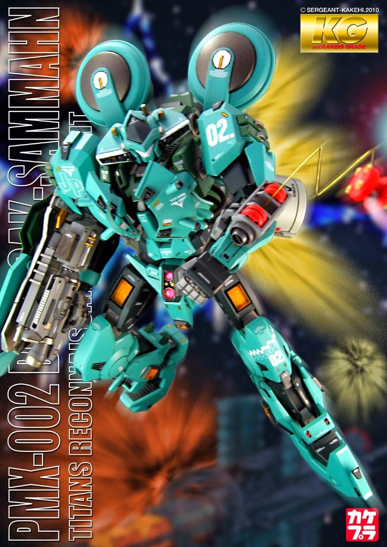 Custom Build: 1/100 PMX-002 Bolinoak Sammahn - Gundam Kits