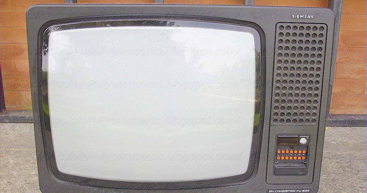 Obsolete Technology Tellye !: SIEMENS BILDMEISTER FC583 (7 669 359 ...