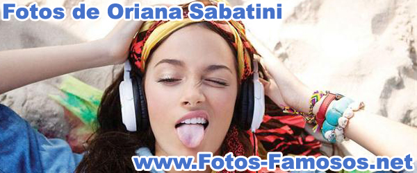 Fotos de Oriana Sabatini