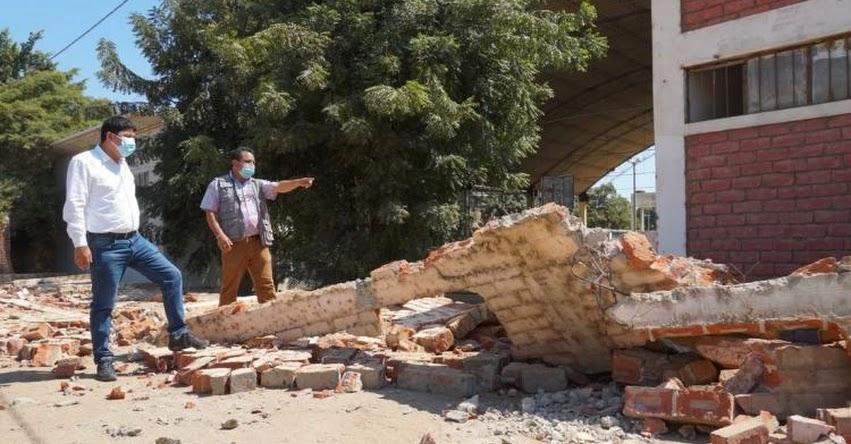 MINEDU evalúa 58 escuelas tras sismo en Sullana - Piura