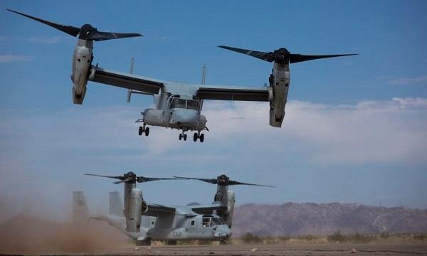 Bell-Boeing V-22 Ospreys