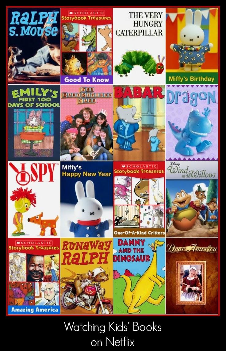 Silver Shoes & Rabbit Holes: Watching Kids' Books on Netflix