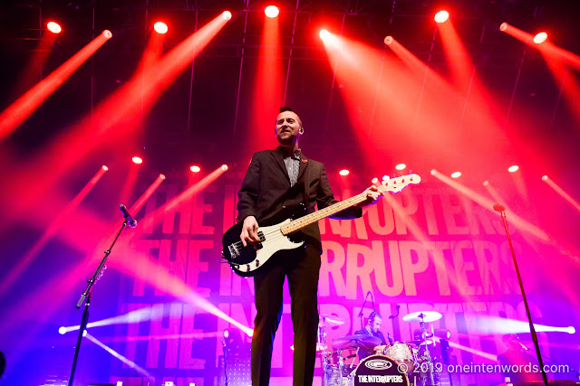 The Interrupters at Rebel on October 30, 2019 Photo by John Ordean at One In Ten Words oneintenwords.com toronto indie alternative live music blog concert photography pictures photos nikon d750 camera yyz photographer