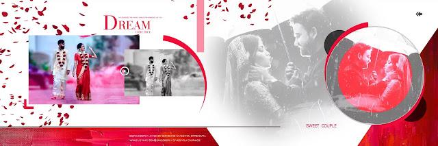 psd download for wedding album