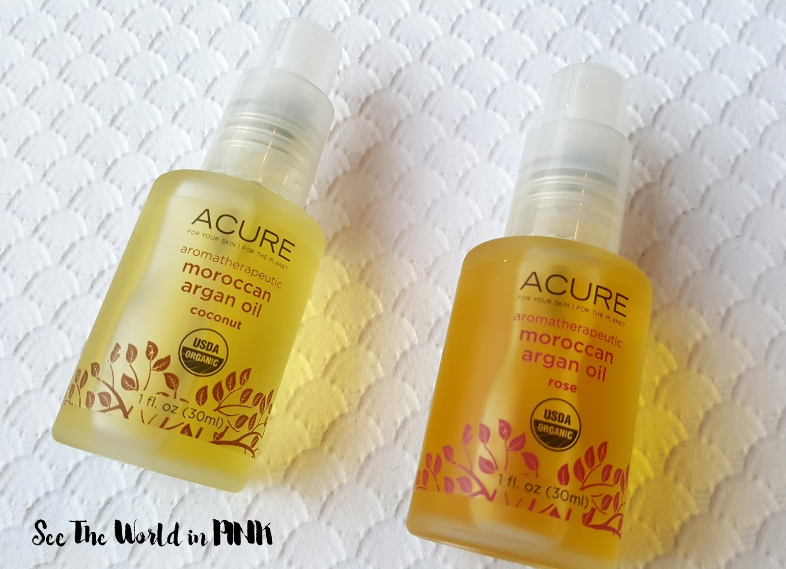 Skincare Sunday - Acure Organics Aromatherapeutic Argan Oil Set